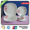 Exquisite Decal Porcelain Tableware Set Dinnerware Plate