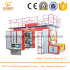 High Speed 4-Colour Central Drum Ci Flexo Printing Machine