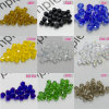100PCS Colorful 4mm Bicone Crystal Beads Loose Spacer Jewelry Accessories