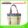 Eco-Friendly Custom China Painted Design Jute Tote Handbag for Grocery