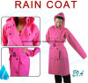 Front Opening Windbreaker Type Adult Rainsuit