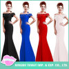 Evening Party Ladies Debutantes Long Summer off The Shoulder Dress