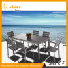 Hot Sale Durable Garden Outdoor Plastic Wood Aluminum Charir Table Set