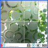 Acid Etched Patterned Frosted Glass