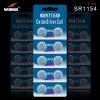 China Silver Oxide Battery Sr44 1.55V Button Battery