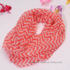 Wave Design Printed Polyester Tublar Scarf for Women (HP16)