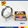 3kc1 Diesel Engine Piston Ring for Isuzu Engine (5-12121-031-0 5-12121-031-1)