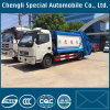 4X2 Compression Type Dongfeng 4000L Compressor Garbage Truck