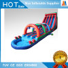 Giant Sport Game Inflatable Water Slide with Pool and Arch