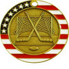Customized Enamel Awards Hockey Medal