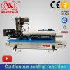 Continuous Bag Sealing Machine with Ribbon Date Printer
