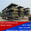 Clw 3 Axles 40FT Container Transport Flat Bed Trailer