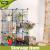 DIY Storage Cube Metal Wire Storage Shelves for Flowers
