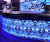 LED Translucent Artificial Marble Bar Counter