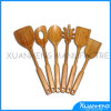 Green Bamboo Kitchen Slotted Spoon