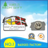 Promotional Gold/Antique Silver Plating Badges with Customized Logo