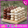 New Design Educational Beads Wooden Toddler Stacking Toys W13D115