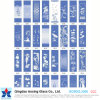 8mm Silk-Printed Toughened Glass for Building/Construction
