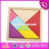 Best Design Classic Brain Teaser Wooden Tangram Games for Kids Education W11d005
