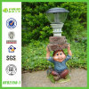 Funny Gnome Mushroom Solar Lamp (NF82150-1)