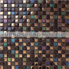 Crystal Glass Mixed Stone Mosaic Tile (KS70)