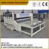 Chain Feeder 2 Color Flexo Printer Slotter and Die Cutter Machine