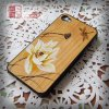 2014 Hot Sale PC+ Cherry Wood for iPhone 5 Cover