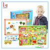 Lively City Brush Maze Multifunctional Magnetic Sketchpad Maze Toy City