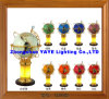 Yaye 18 Hot Sell Ce/RoHS 220mm/330mm Lighting Gemstone Globe /World Globe /Gemstone Globe