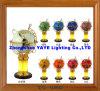 Yaye 18 Hot Sell Ce/RoHS 220mm/330mm Lighting Gemstone Globe /World Globe /Gemstone Globe