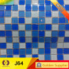 Building Material Swimming Pool Crystal Glass Mosaic Tile (J64)