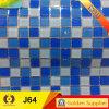 Building Material Swimming Pool Crystal Glass Mosaic Tile (J64)
