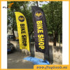 3.9m Exhibition Fiberglass Portable Digital Printing Feather Flag