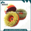 Nail-Lock Diamond Wire Abrasive Brush for Grinding