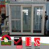 Plastic Bi Fold Sliding Doors with Grey Glass