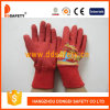 Red Cotton with Red Latex Coated Gloves for Kids Dcl521