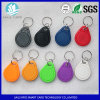 Lf / Hf Waterproof RFID Plastics Key Tag for Door Access Control