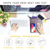 Newest Qi Wireless Charger for iPhone X Mousepad Organizer