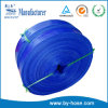 Water Supply Blue Lay Flat PVC Suction Hose Pipe