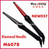 Newest Diamond Handle Fashion Conical Hair Curling Iron (M607B)