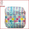 Cotton Backsheet with Magic Tape with Super Absorbent Soft Breathable Baby Diaper