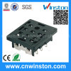 Py-11 General Miniature Black Color Timer Industrial Relay Socket with CE
