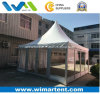 5X5m Glass Gazebo with Lining and Glass Door