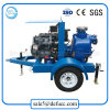 Heavy Duty Trailer Mounted Diesel Engine Self Priming Water Pump