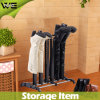 3 Pairs Removable Plastic Shoe Storage Organizer for Boots