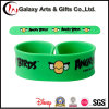 Angrv Birds Screen Printed Silicone Wristband/Slap Wrap