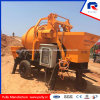 40 M3 Per Hour Pumping out High Efficiency Trailer Concrete Mixer Pump