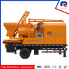 Forced Concrete Mixer with Pump