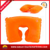 Professional Inflatable Neck Pillow Supplier Velvet Inflatable Pillow U-Shape Neck Pillow
