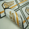 Double Print Self Adhesive Stickers
